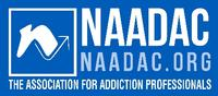 NAADAC, the National Association of Addiction Professionals Logo